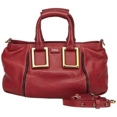 Chloe Red Leather Ethel