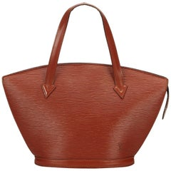 Louis Vuitton Brown Epi Saint Jacques PM