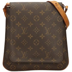 Louis Vuitton Brown Monogram Musette Salsa Short Strap