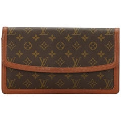 Louis Vuitton Brown Monogram Pochette Dame