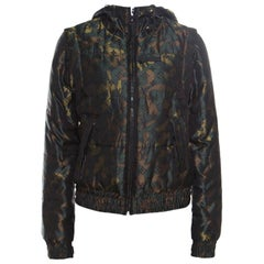 Louis Vuitton X Takashi Murakami Monogramouflage Convertible Puffer Jacket/Vest