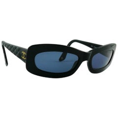 Chanel Black Quilted Sunglasses Mod. 5006