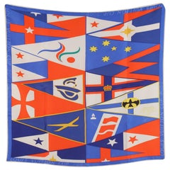 Louis Vuitton Cup 2000 Limited Edition Silk Neck Scarf Gavroche