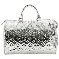 Louis Vuitton Speedy Handbag Miroir PVC 30