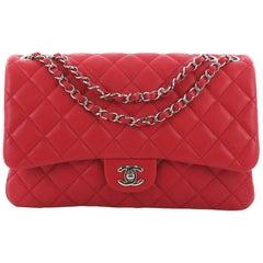 Chanel 3 Bag Quilted Lambskin Jumbo
