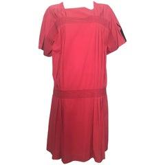 Gianfranco Ferre 1980s Cotton Loose Cut Dress Size 6 / 8.