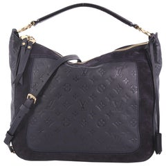 Louis Vuitton Audacieuse Handbag Monogram Empreinte Leather MM