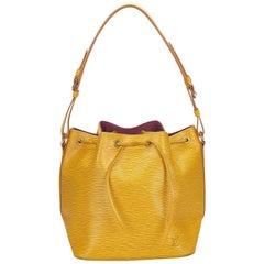 Louis Vuitton Yellow Epi Noe
