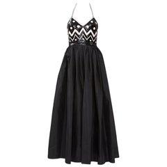 Alimia Haute Couture Halterneck Tulle Gown