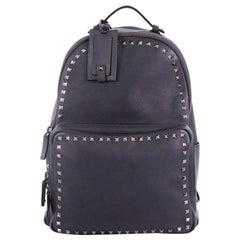 Valentino Rockstud Backpack Leather Large