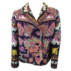 Etro Multi-Color Print Jacket NWT