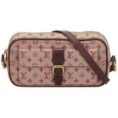 Louis Vuitton Red Monogram Mini Lin Juliette MM