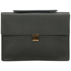 Louis Vuitton Green Porte-Document Angara Briefcase