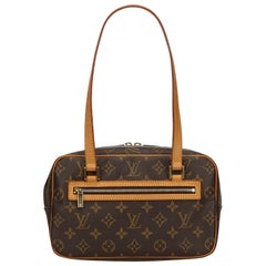 Louis Vuitton Brown Monogram Cite MM