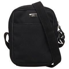 Gucci Black Jacquard Crossbody Bag