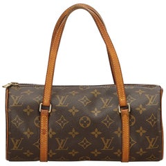Louis Vuitton Brown Monogram Papillon 26