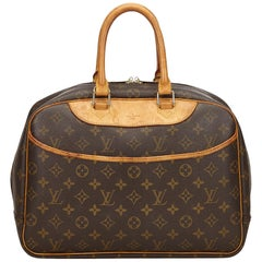 Louis Vuitton Brown Monogram Deauville