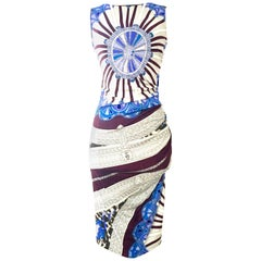 Contemporary & New Emilio Pucci Silk Geometric Print Shift Dress, 2013