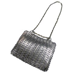 Iconic Paco Rabanne Steel Bag Circa 1968