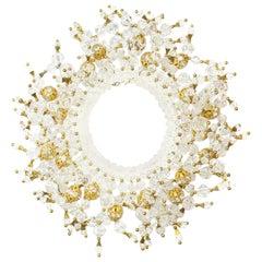 Mimi dI N, Faux Kristall Halskette mit Strass