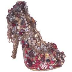 JoeBaby Recycled Musiacs Artwork The Shoe