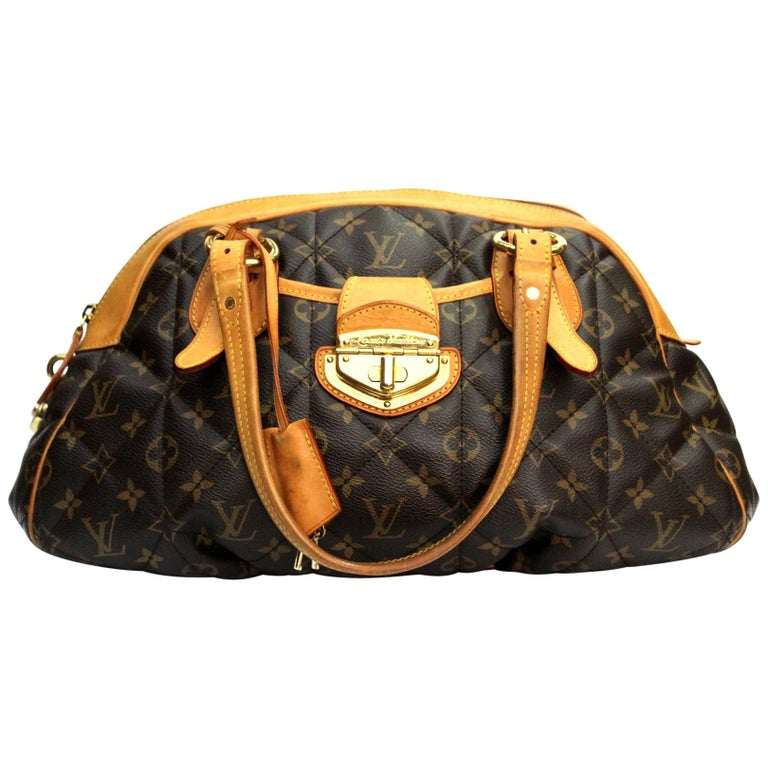 957aa1919fc5 LOUIS VUITTON Monogram Canvas Etoile Bowling Bag For Sale at 1stdibs