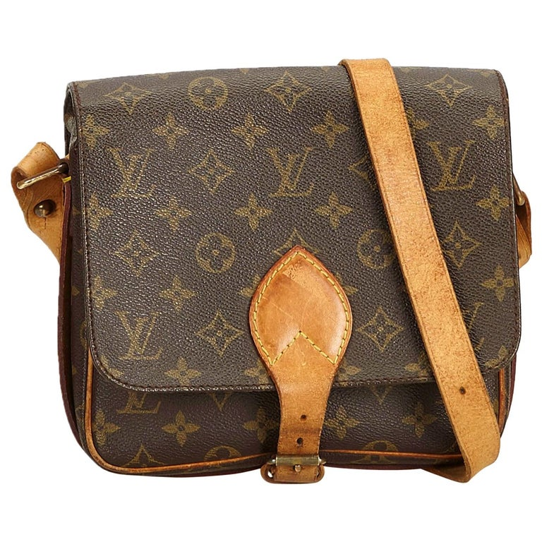 34f1be87f369 ... Crossbody. 1stdibs.  179 · Louis Vuitton Brown Monogram Cartouchiere MM