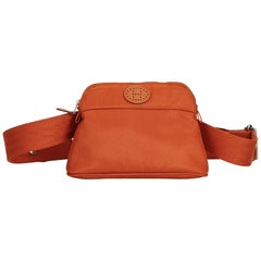 Hermes Orange Bolide San Tulle Golf Belt Bag