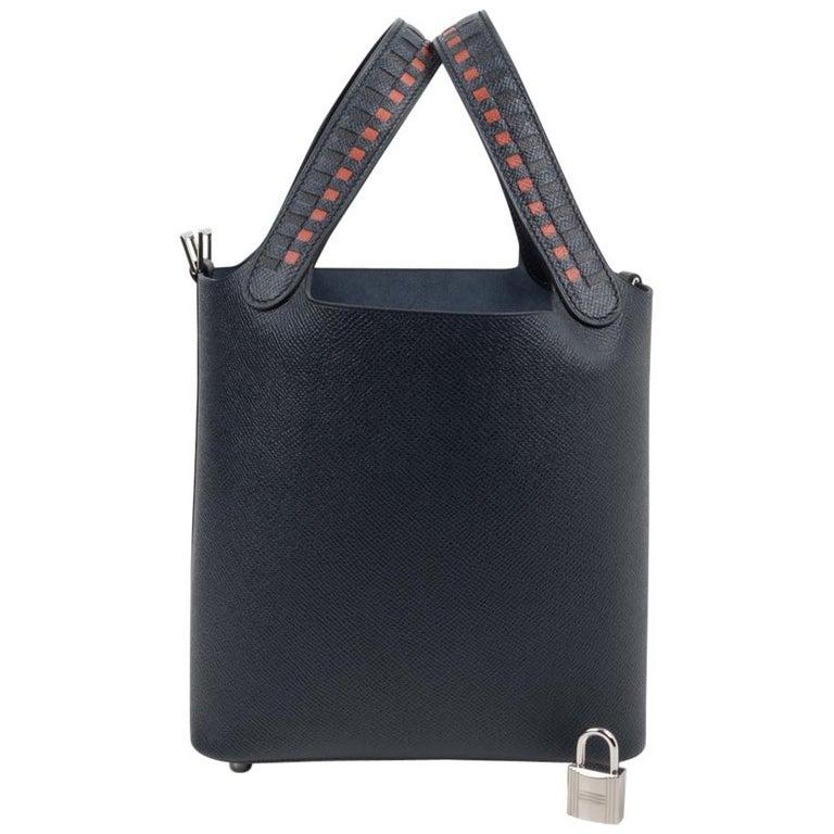 Hermes Picotin Lock 18 Tressage De Cuir PM Limited Edition For Sale