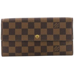 Louis Vuitton Sarah Wallet Damier,