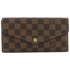 Louis Vuitton Sarah Wallet NM Damier