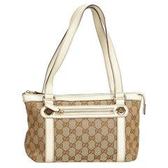Gucci Brown Guccissima Jacquard Shoulder Bag
