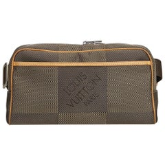 Louis Vuitton Gray Damier Geant Acrobate Waist Bag