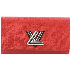 Louis Vuitton Twist Wallet Epi Leather