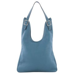 Hermes Massai Handbag Leather 32