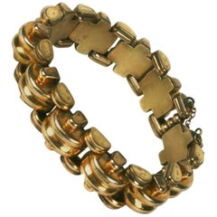 French Retro Link Bracelet