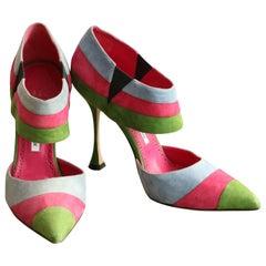Manolo Blahnik vintage heel