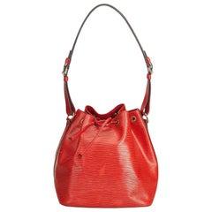Louis Vuitton Red Epi Noe
