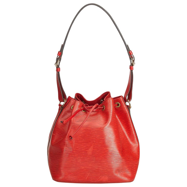 7bb2dc4c19a2 Louis Vuitton Red Epi Noe For Sale at 1stdibs