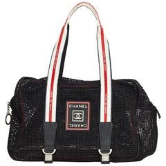 Chanel Sport Line Mesh Shoulder Bag