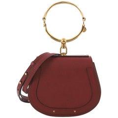 Chloe Nile Crossbody Bag Leather Small