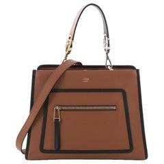 Fendi Runaway Handtasche Leder klein