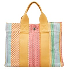 Hermes Striped Fourre Tout PM New York Madison Limited Edition