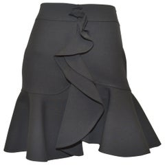 Balenciaga Ruffled Mini Skirt
