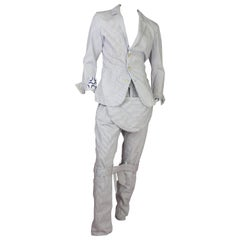 Vivienne Westwood for Lee Bondage Pinstripe Suit