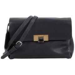 Balenciaga Le Dix Soft Courrier Bag Leather Small