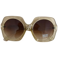 668ae6f7a74c Tom Ford Sofia Sunglasses FT 0535 in Pale Gold Tone Never Worn w Case and