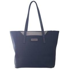 Pierre Cardin Linen Textured black handbag bag tote