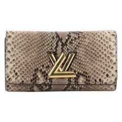 Louis Vuitton Twist Wallet Python