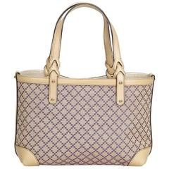 Gucci Brown Diamante Craft Tote Bag